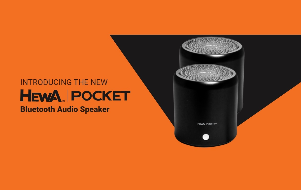 Hewa Pocket Bluetooth Speakers